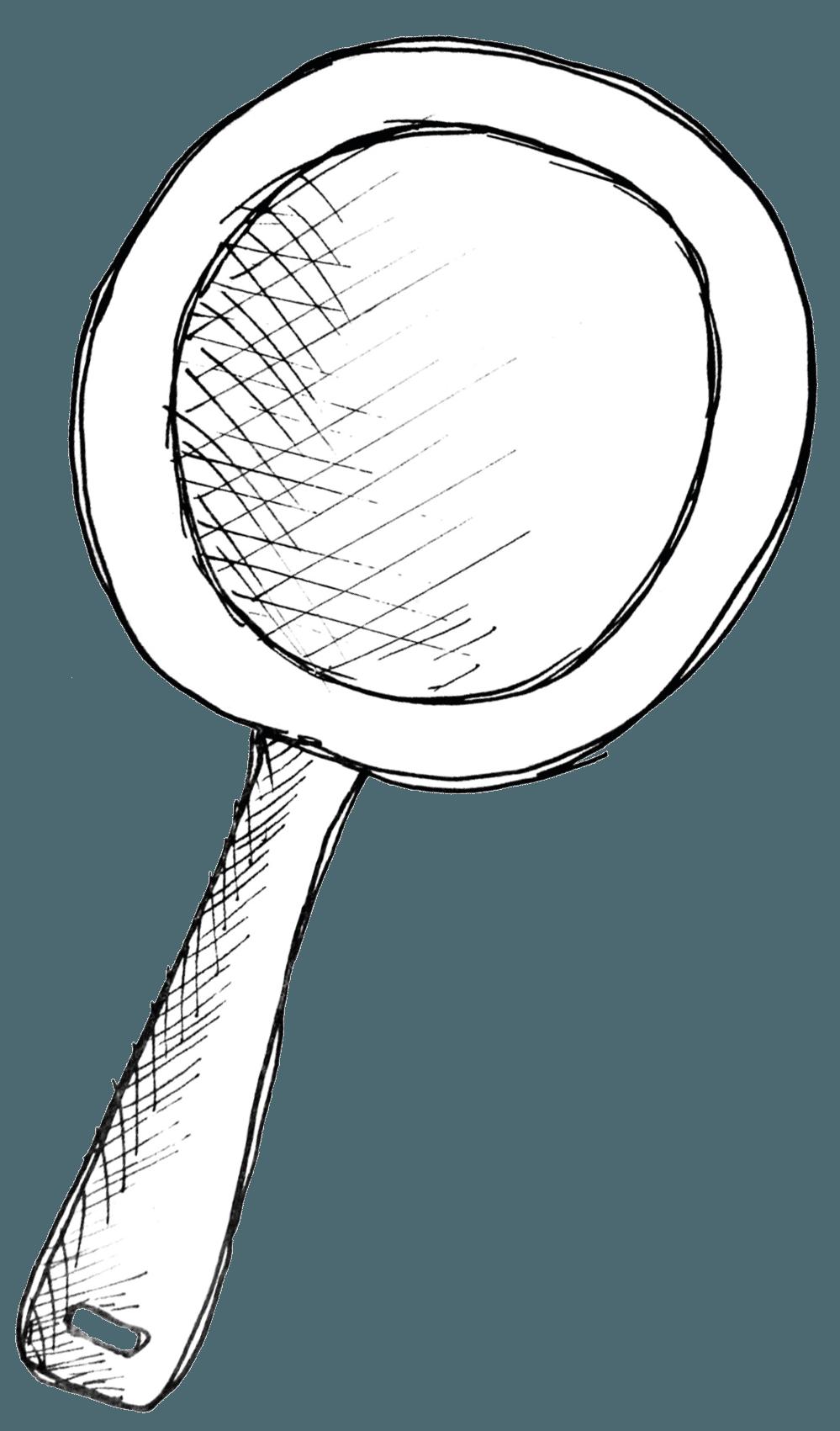 Illustratie koekenpan | stadscafé De Pannenkoek